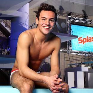 Tom Daley is concentrating on his dive training rather than his TV career right now