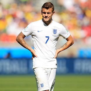 Jack Wilshere made his first World Cup start against Costa Rica