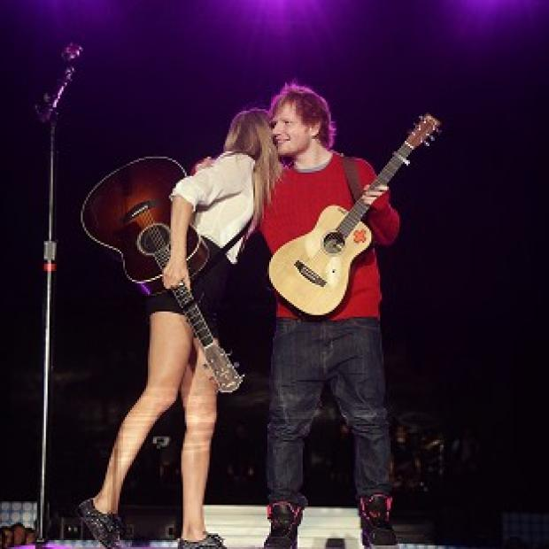 Hampshire Chronicle: Ed Sheeran says his friend Taylor Swift has a personality that is older than her years