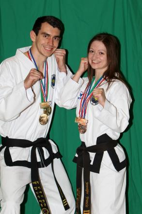 Marriage doesn't Tae Harefield duo down
