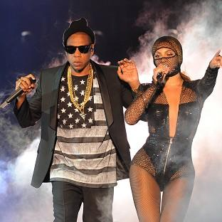 Beyonce and Jay Z sh