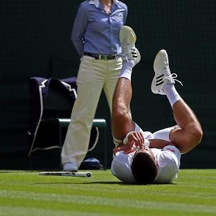 Novak Djokovic feared the worst when he injured his shoulder