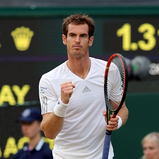 Great Britain's Andy Murray eased to a third round victory