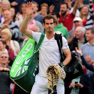 Andy Murray delighted the Centre Court