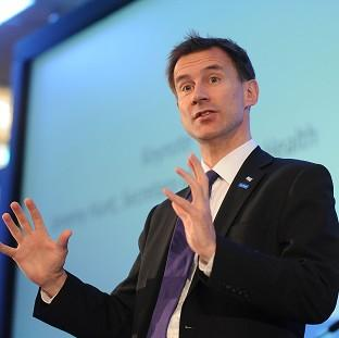 Hampshire Chronicle: Jeremy Hunt said tough action must be taken to improve cancer diagnosis levels