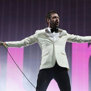 Kasabian's Crazy end to Glastonbury