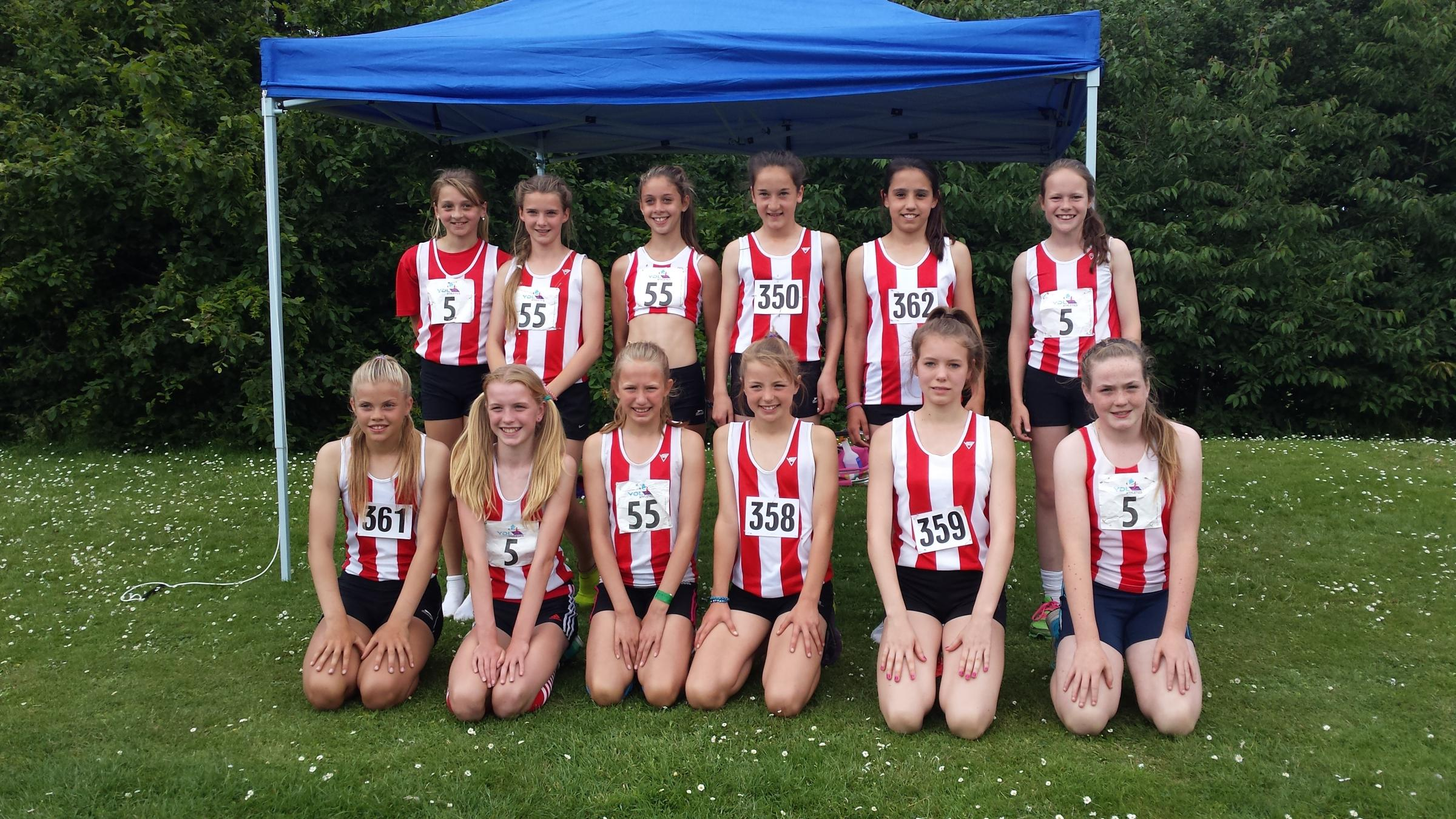 Athletics: Girl power keeps Southampton sitting pretty in league