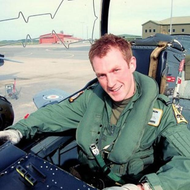 Hampshire Chronicle: Flight Lieutenant Adam Sanders, 27, was among those killed in the crash in July 2012