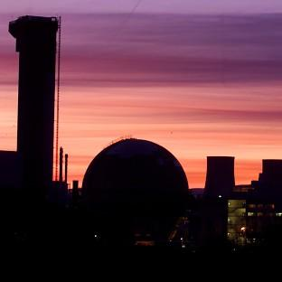 The three reactors will be built on the Moorside site near the existing Sellafield
