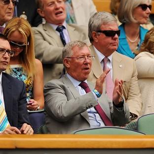 Hampshire Chronicle: Former Manchester United manager Sir Alex Ferguson watched Murray's quarter-final victory last year