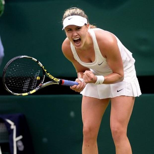 Hampshire Chronicle: Canada's Eugenie Bouchard moved into the quarter-finals at Wimbledon