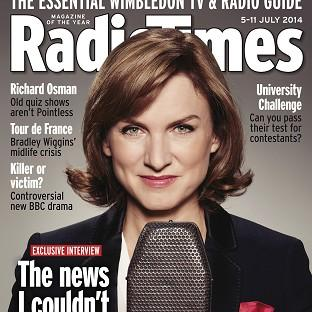Fiona Bruce shuns social media because of the vitriolic abuse that she has seen unleashed on fellow female celebrities