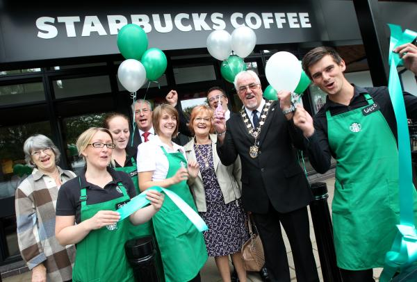 Coffee chain brings store to retail park