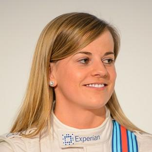 Susie Wolff will dive in front of 70,000 spect