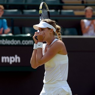 Eugenie Bouchard booked her place in the last four