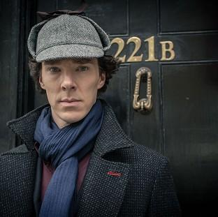 Hampshire Chronicle: Benedict Cumberbatch as Sherlock Holmes