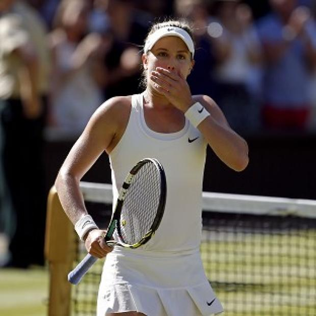 Hampshire Chronicle: Eugenie Bouchard powered her way into her first grand slam final with victory over Simona Halep