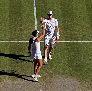 Jamie Murray and Casey Dellacqua bowed out of Wimbledon