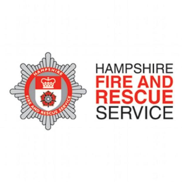 Hampshire Chronicle: Firefighters battle Owslebury blaze until midnight