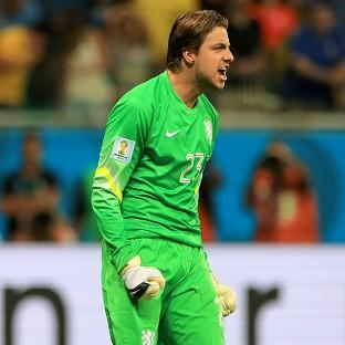 Tim Krul was the hero in Holland's shootout success