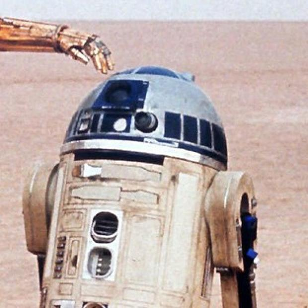 Hampshire Chronicle: Famous faces - and droids - will join less well-known actors in the new Star Wars movie