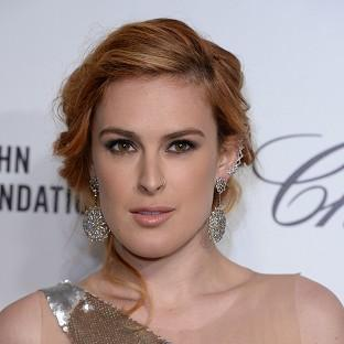 Rumer Willis is rumoured to be romancing Ricky Whittle
