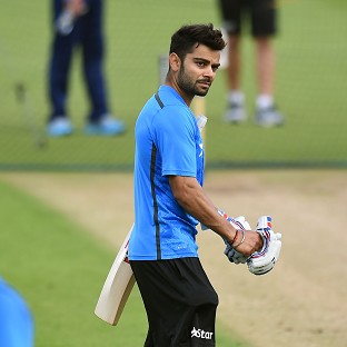 Virat Kohli will play his first Test in England at Trent Bridge from Wednesday