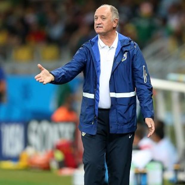 Hampshire Chronicle: Brazil manager Luiz Felipe Scolari, pictured, has been verbally attacked by Neymar's agent