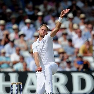 Stuart Broad, pictured, is sure England captain Alastair Cook will come good soon