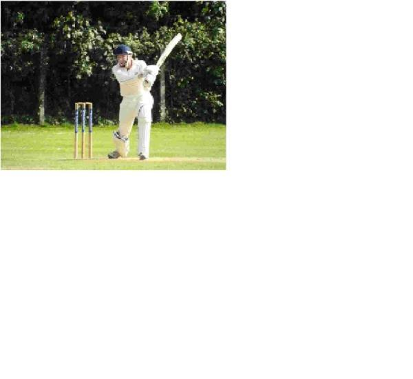 Hampshire Chronicle: Rob Newman hit 73 for OTs & Romsey in their defeat by Totton & Eling.