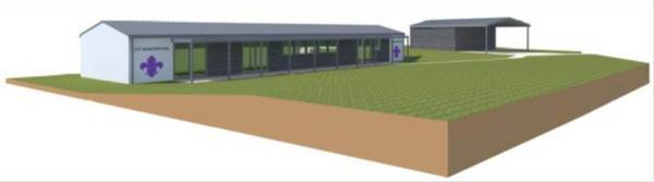 Hampshire Chronicle: An impression of how the hut will look.