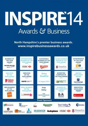 Last chance to enter the INSPIRE14 Business Awards