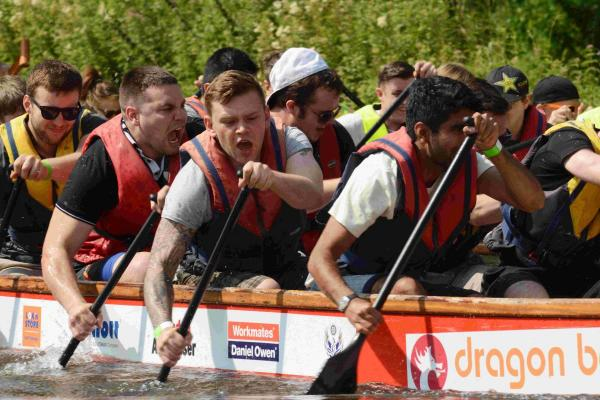 In pictures: Dragon boat racing on Itchen Navigation