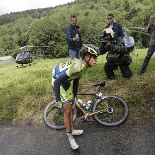 Alberto Contador became the latest rider to retire (AP)
