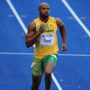 Asafa Powell is eligible to compete again