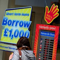 Cap on costs of payday loans