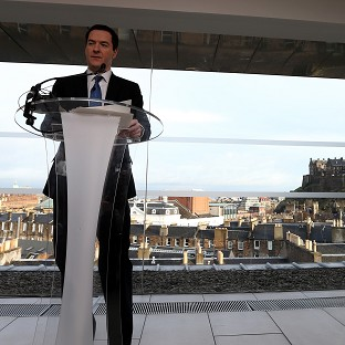 George Osborne said questions on currency, the deficit and the impact of falling oil and gas revenues on the Scottish economy remain unanswered by the SNP