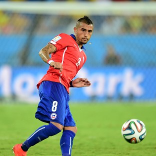 Manchester United are said to be interested in Arturo Vidal