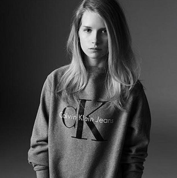 Hampshire Chronicle: Lottie Moss was photographed by Michael Avedon for Calvin Klein Jeans' collaboration with Mytheresa.com