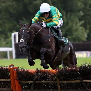 On The Record and Tony McCoy on their way to a