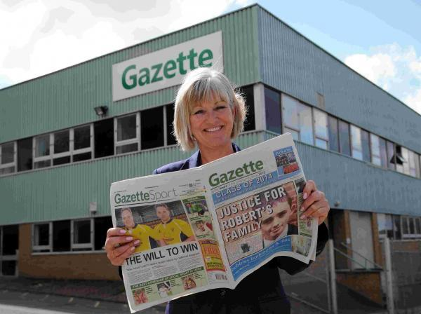 Gazette Newspapers' new publisher Liz Bond