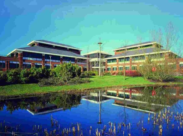 Shire's offices on Hampshire International Business Park, in Chineham
