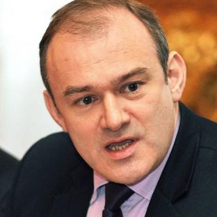 The 'fourth carbon budget' will remain as it was set in 2011, effectively requiring a 50% greenhouse gas cut on 1990 levels, Ed Davey said