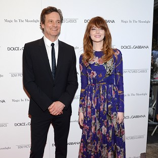 Colin Firth and Emma Stone star in Magic In The Moonlight