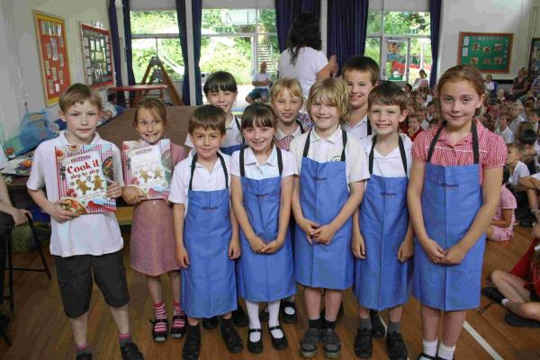 Pupils from Bishop's Waltham Infant and Junior schools were challenged to create dishes that could be served in cafes and restaurants