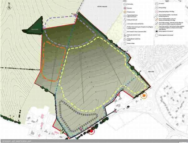 "Proposed Winchester housing development branded ""preposterous"""