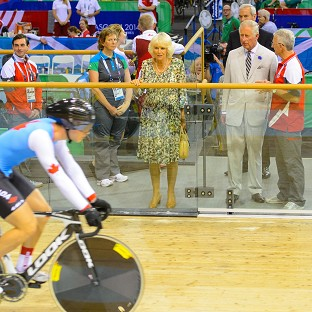 The Prince of Wales and the Duchess of Cornwall were in attendance at the Sir Chris Hoy Velodrome