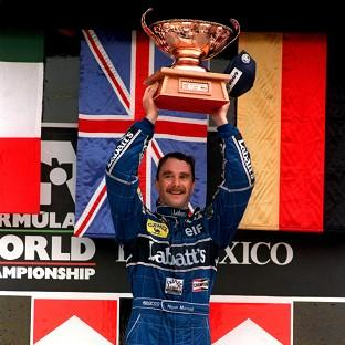 Nigel Mansell was the last winner of a race in Mexico