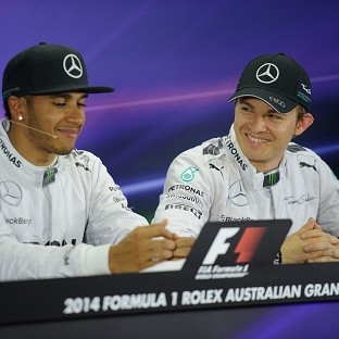 Lewis Hamilton, left, and Nico Rosberg both want to be on top of the podium this Sunday