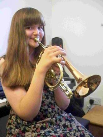 Swanmore College student accepts place at leading youth brass band